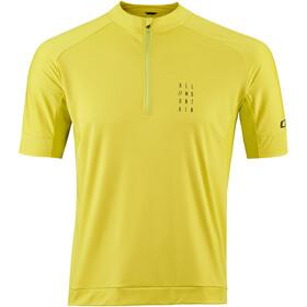 Cube AM Fietsshirt korte mouwen Heren geel